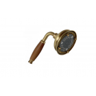 Migliore Ricambi ML.RIC-33.112.BR Ручной душ 3-х позиционный антикальций, металл/дерево орех, бронза