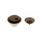 Migliore Complementi ML.RIC-10.131.BR Слив для кухонной мойки d-90 с крышкой, бронза