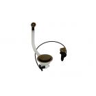 Migliore Complimenti ML.RIC-10.132.BR Слив для кухонной мойки d-90 с крышкой и переливом, бронза