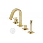 Migliore Alimatha ML.ALC-5755 DO Смеситель на борт ванны на 4 отверстия, золото