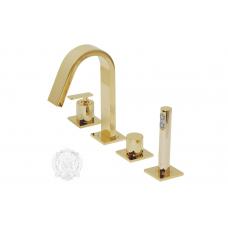 Migliore Alimatha ML.ALC-5755.DO Смеситель на борт ванны на 4 отверстия, золото