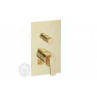 Migliore Alimatha ML.ALC-5772.DO Смеситель скрытого монтажа с переключателем, золото