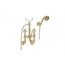 Migliore Cristalia 27181 Смеситель для ванны внешний, ручки SWAROVSKI, золото