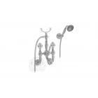 Migliore Cristalia ML.CRS-3702.CR Смеситель для ванны внешний, ручки SWAROVSKI, хром