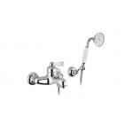 Migliore Ermitage ML.ERM-7002.BI.CR Смеситель для ванны внешний, ручка белая, хром