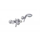 Migliore Korona Swarovski ML.KRN-4702.CR Смеситель для ванны внешний, ручки SWAROVSKI, хром