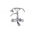 Migliore Korona Swarovski ML.KRN-4703.CR Смеситель для ванны внешний изогнутый, ручки SWAROVSKI, хром