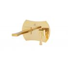 Migliore Opera ML.OPR-6046.DO Смеситель для раковины скрытого монтажа, настенный, излив L17,7 см., золото