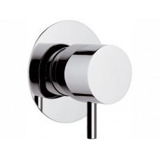 Remer Mininimal N34DEV5 Переключатель скрытого монтажа, хром