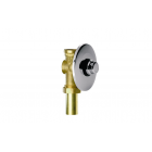 Remer Tempor TE171 Пневматический кран для слива туалета-таймер, хром