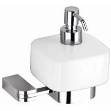 SCHEIN Allom 222DS-R Дозатор жидкого мыла к стене, керамика/хром