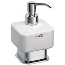 SCHEIN Allom 222DS-T Дозатор жидкого мыла настольный, керамика/хром