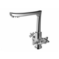 ZorG Inox SZR-1149-7C CERTE Смеситель для кухни под фильтр, нержавеющая сталь