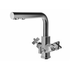 ZorG Inox SZR-1149-7G ESSU Смеситель для кухни под фильтр, нержавеющая сталь