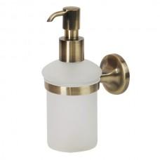 VERAGIO OSCAR VR.OSC-5270.BR Дозатор жидкого мыла настенный, бронза/стекло