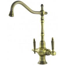 ZorG Clean water ZR 351 YF BR Смеситель для кухни под фильтр, бронза