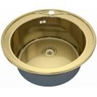ZorG SZR-510/205 bronze Кухонная мойка круглая