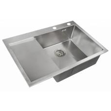 ZorG RX-7851-R Кухонная мойка, правая чаша, нержавеющая сталь