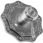Zorg Antic A 302DK-SL Смеситель для душевой кабины, серебро