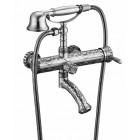 Zorg Antic A 100W-SL Смеситель для ванны с душем, античное серебро