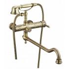Zorg Antic A 101WDN-BR Смеситель для ванны с душем, бронза