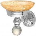 Migliore Cristalia ML.CRS-60.201 CR/BR/DO Мыльница настенная,стекло  Swarovski  хром/бронза/золото