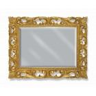 """Migliore ML.COM-70.502  AG/AV.DO/BR/DO Зеркало  прямоугольное """"ажурное"""" H75xL95xP3 см серебро/белый.золото/бронза/золото"""