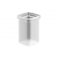 Langberger 11125A-00-01 Колба стеклянная для ершика, матовый