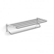 Langberger 28003A Полка для полотенец двухуровневая 60 см, хром