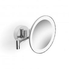 Langberger 71585 Зеркало косметическое с подсветкой, хром