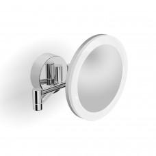 Langberger 71785 Зеркало косметическое поворотное с подсветкой, хром