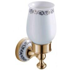 SCHEIN Saine Gold  7053011VF Стакан керамика к стене, золото