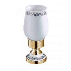 SCHEIN Saine Gold 7053013VF Стакан керамика настольный, золото