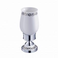 SCHEIN Saine  7053013 Стакан керамика настольный, хром