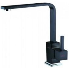 KORDI Black Line Edition KD 4405A - D19 Black Смеситель для кухни, чёрный
