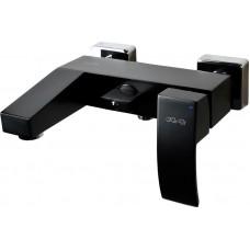 KORDI Black Line Edition KD 5204B - D46 Black/Chrome Смеситель для ванны/душа, чёрный