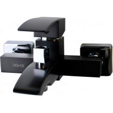 KORDI Black Line Edition KD 5404 - D46 Black/Chrome Смеситель для ванны/душа, чёрный