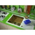 ZorG Inox Мойка-Glass 780*510 GL-7851-white-bronze