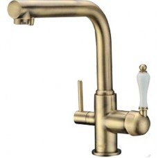 ZorG Clean water ZR 313 YF-PVD-BR Смеситель для кухни под фильтр, бронза
