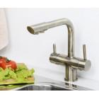 WasserKRAFT A8037 Смеситель для кухни (под фильтр) светлая бронза