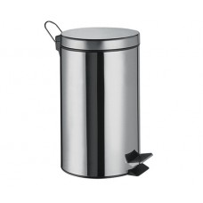 WasserKraft K-635 Ведро мусорное 5л, хром
