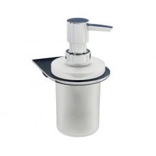 WasserKraft Kammel K-8399 Диспенсер с настенным креплением, хром/матовое стекло