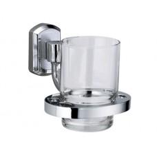 WasserKraft Oder K-3028 Стакан с настенным креплением, хром/стекло