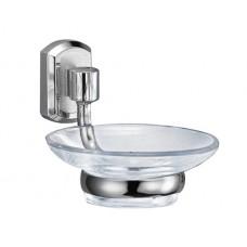 WasserKraft Oder K-3029 Мыльница с настенным креплением, хром/стекло