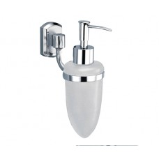 WasserKraft Oder K-3099 Диспенсер с настенным креплением, хром/стекло