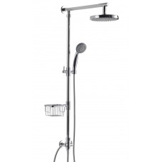 WasserKraft A015 Душевая система без смесителя, хром