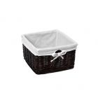 WasserKraft Alme WB-150-L Плетеная корзина для белья, темно-коричневый