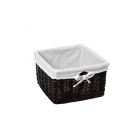WasserKraft Alme WB-150-M Плетеная корзина для белья, темно-коричневый
