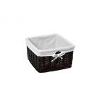WasserKraft Alme WB-150-S Плетеная корзина для белья, темно-коричневый