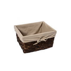 WasserKraft Berkel WB-480-M Плетеная корзина для белья, темно-коричневый